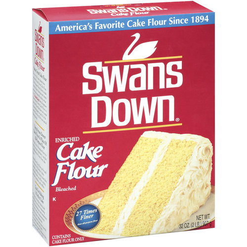 Is Swans Cake Flour Gluten Free
